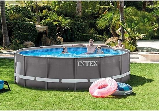 Intex 14ft X 42in Ultra Frame Pool Set