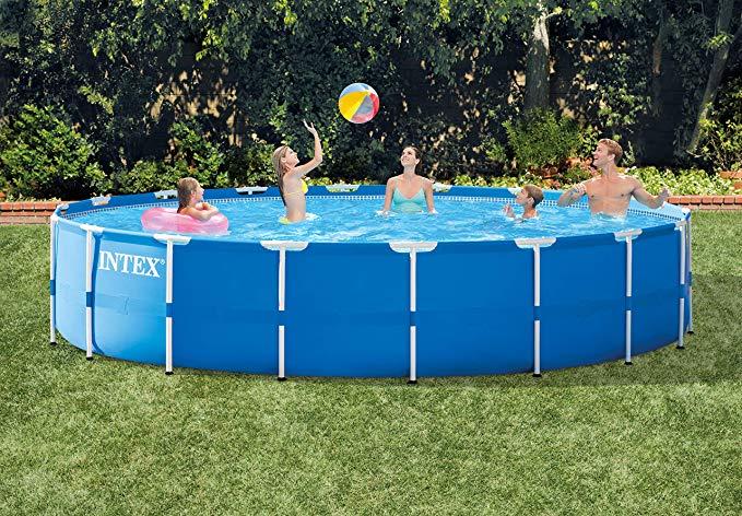 Intex 18ft X 48in Metal Frame Pool set