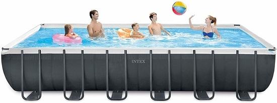 Intex 24ft X 12ft X 52in Ultra XTR Rectangular Pool Set
