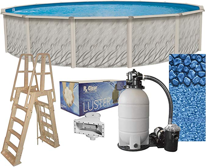 Meadows 15-Foot-by-52-Inch Round above Ground Pool